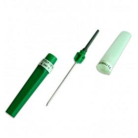 Kan alma iğnesi  0.8*38 mm (21G x 1½) Yeşil
